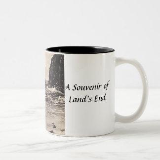 Land's End Souvenir Mug