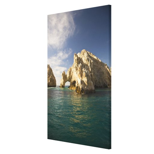 Land's End, The Arch near Cabo San Lucas, Baja Stretched Canvas Print