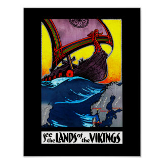 Lands of the Vikings Poster