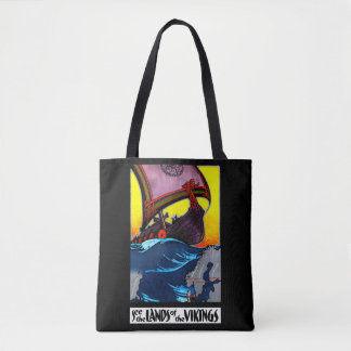 Lands of the Vikings Tote Bag