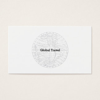 Lands of the Western Hemisphere Business Card