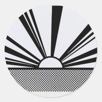 Landscape4 Classic Round Sticker