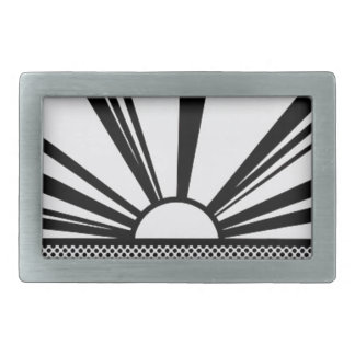 Landscape4 Rectangular Belt Buckles