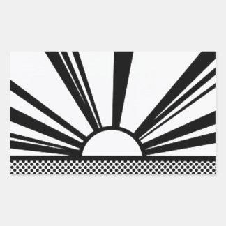 Landscape4 Rectangular Sticker