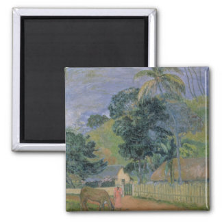 Landscape, 1899 square magnet