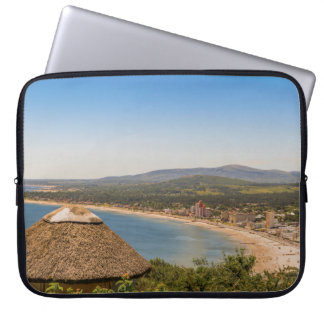 Landscape Aerial View Piriapolis Uruguay Laptop Sleeves