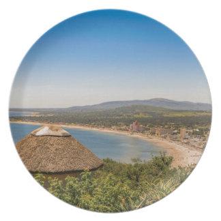 Landscape Aerial View Piriapolis Uruguay Plates