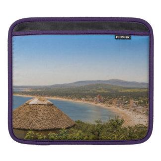 Landscape Aerial View Piriapolis Uruguay Sleeve For iPads