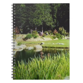 Landscape and Pond Photo Notebook