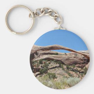 landscape arch key ring