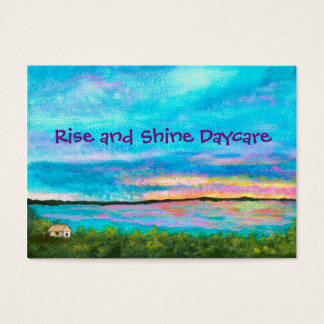 Landscape Art Seashore Beach Sunrise Daycare