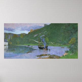 Landscape at Pont-Aven, c.1893-94 Poster