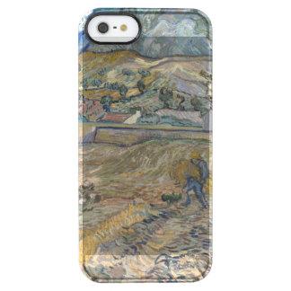 Landscape at Saint-Rémy ; Vincent Van Gogh Clear iPhone SE/5/5s Case