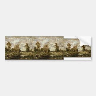 Landscape by Pierre-Auguste Renoir Bumper Stickers