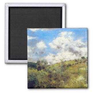 Landscape by Pierre Renoir Magnet