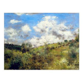 Landscape by Pierre Renoir Postcard