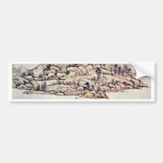 Landscape By Wang Yüan-Ch'I Bumper Sticker