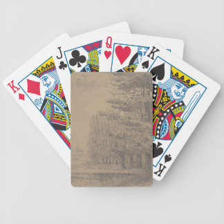 Landscape creation of Jesus Christ Bicycle Playing Cards