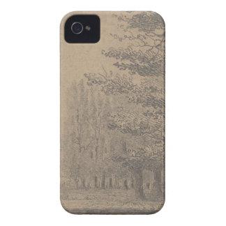 Landscape creation of Jesus Christ iPhone 4 Case-Mate Cases
