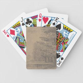 Landscape creation of Jesus Christ Poker Deck