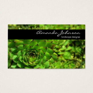 Landscape Designer Business Card