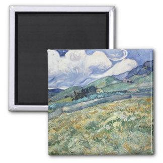 Landscape from Saint-Remy by Vincent Van Gogh Fridge Magnets