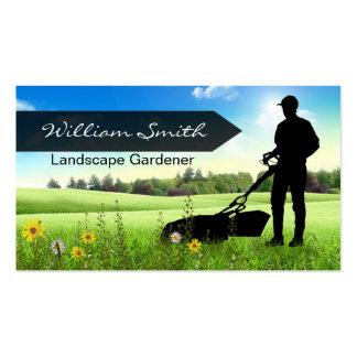 Landscape Gardener Business card Tarjetas De Visita