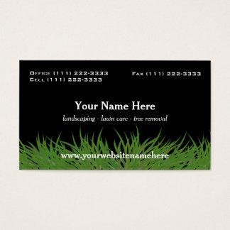Landscape Green Grass Business Card