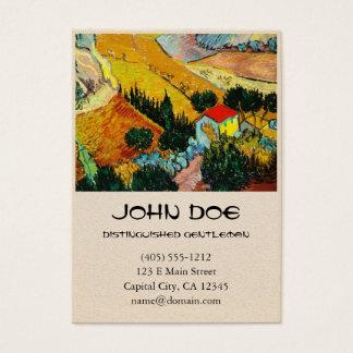 Landscape House and Ploughman  Vincent Van Gogh
