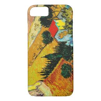 Landscape House and Ploughman  Vincent Van Gogh iPhone 7 Case