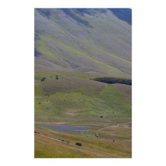 Landscape in the Sibillini Mountains in Italy Stationery Paper