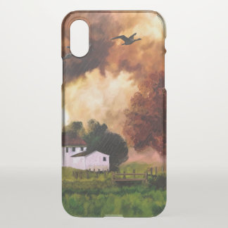 Landscape iPhone X Clearly™ Deflector Case