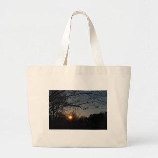 landscape large tote bag