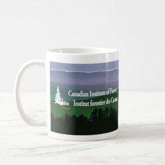 Landscape logo coffee mug