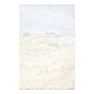 Landscape Near Auvers By Vincent Van Gogh Stationery