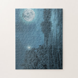 Landscape Night Photo Puzzle