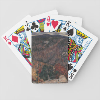 Landscape No. 25 Bicycle Playing Cards