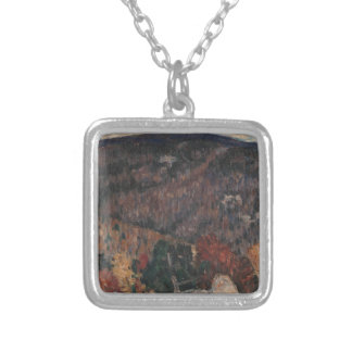 Landscape No. 25 Silver Plated Necklace