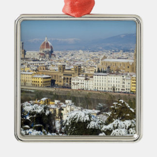 Landscape of Florence from Piazzale Metal Ornament