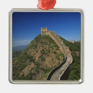Landscape of Great Wall, China Metal Ornament