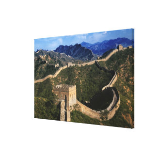 Landscape of Great Wall, Jinshanling, China Canvas Print
