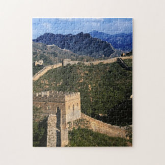 Landscape of Great Wall, Jinshanling, China Jigsaw Puzzle