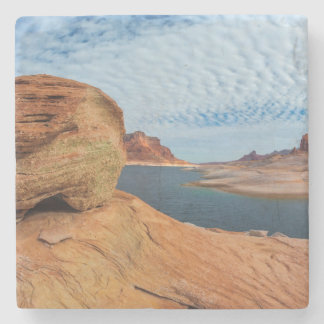 Landscape of Lake Powell Stone Coaster