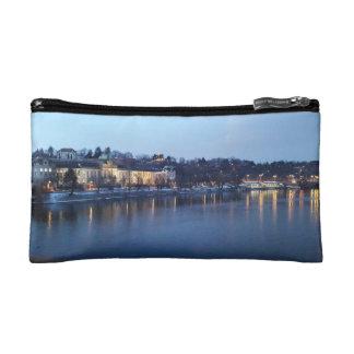 Landscape of Újezdv in Early Evening Cosmetic Bag