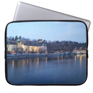 Landscape of Újezdv in Early Evening Laptop Sleeve