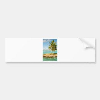 Landscape off will bora will bora bumper sticker