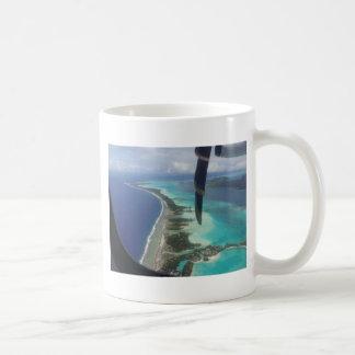 Landscape off will bora will bora coffee mug