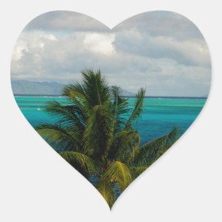 Landscape off will bora will bora heart sticker