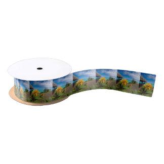 Landscape off will bora will bora satin ribbon