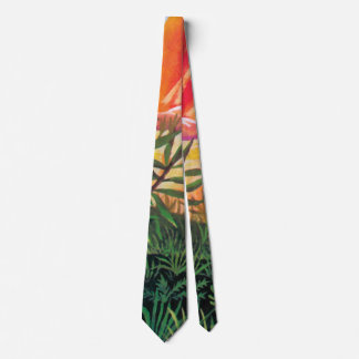 Landscape on Europa - Jupiter Moon Painting Tie